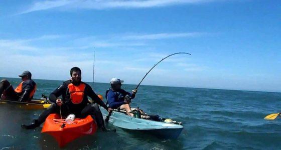 Kayak Fishing Mag Bay