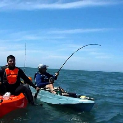 Kayak Fishing Mag Bay