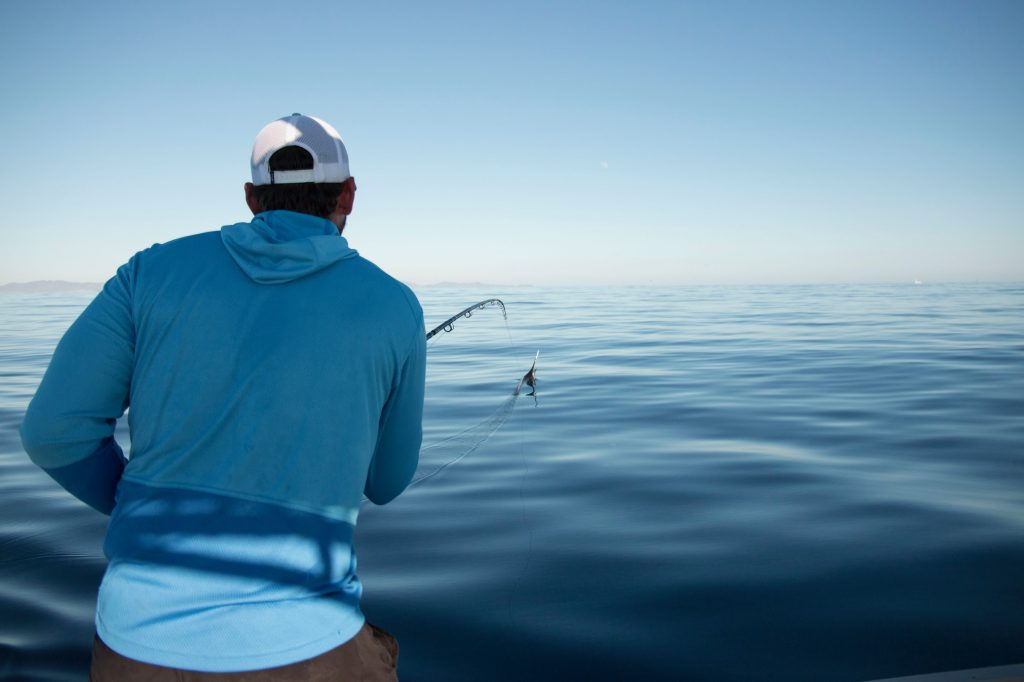 Marlin on Fly Rod Mag Bay